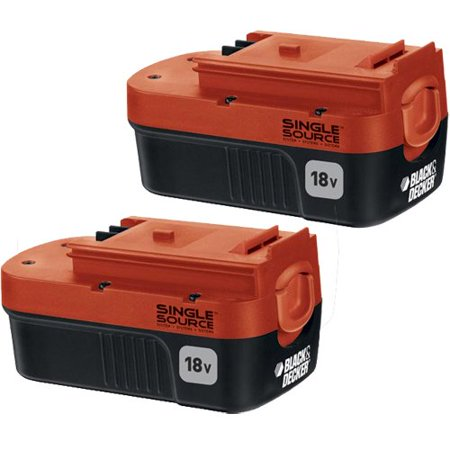 Black and Decker 18-Volt OEM Replacement Battery, 2 Pack - image 1 de 1