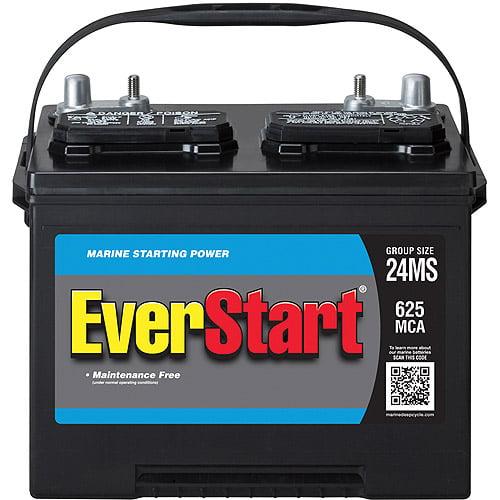 EverStart Marine Battery, Group Size 24MS