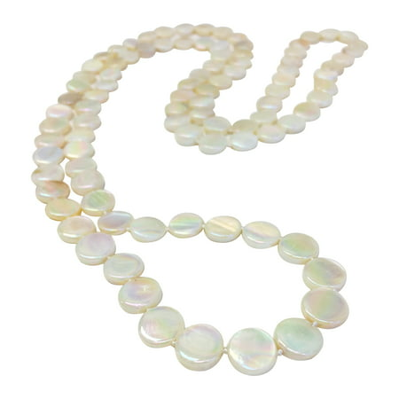 - OYSTER BAY COLLECTION Ivory Double Strand Mother-of-Pearl Necklace