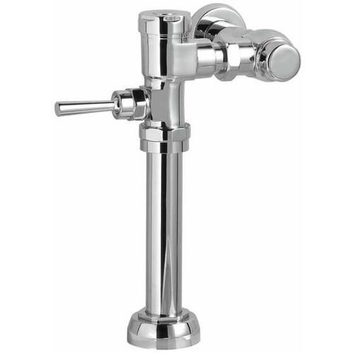 "American Standard 6047.162.002 Manual 1.6 GPF Toilet Flush Valve with 27"" Rough-In, Chrome"