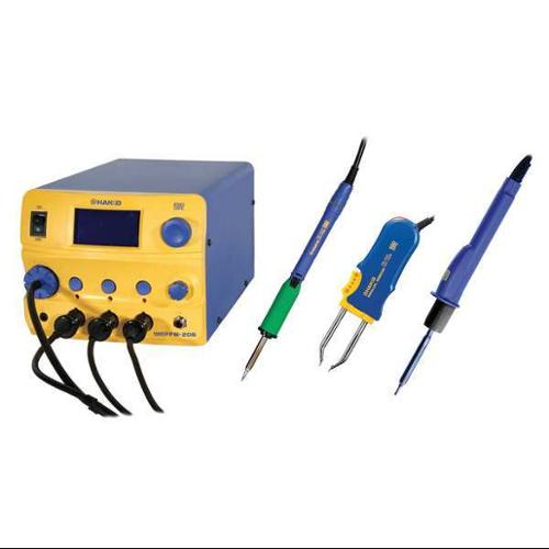 HAKKO FM206-STA Rework Station,3 Port,STA,120V,ESD Safe