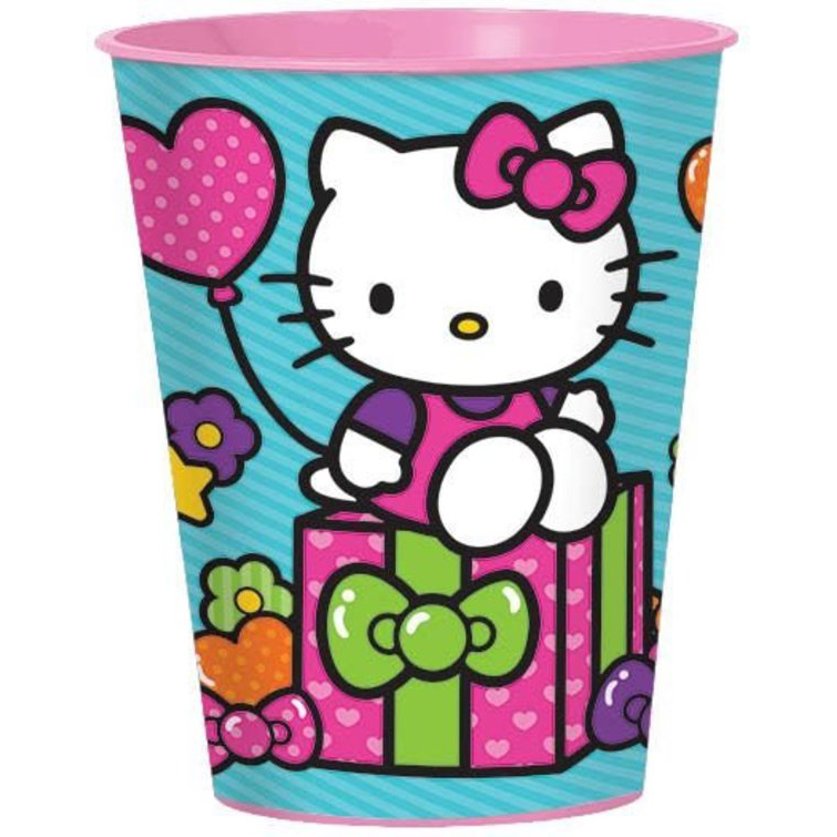 DesignWare Party Cup Hello Kitty, 16.0 OZ