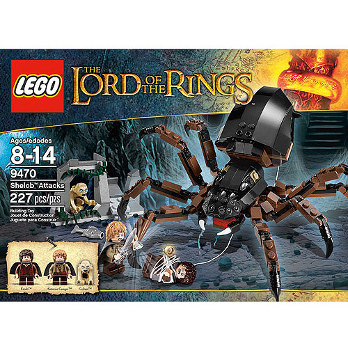 LEGO Lord of the Rings Shelob Attacks Play Set