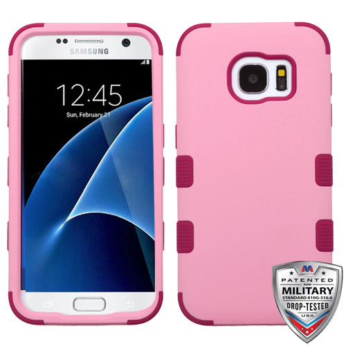 For Samsung Galaxy S7 TUFF Shockproof Hybrid Impact Phone Protector Case Cover