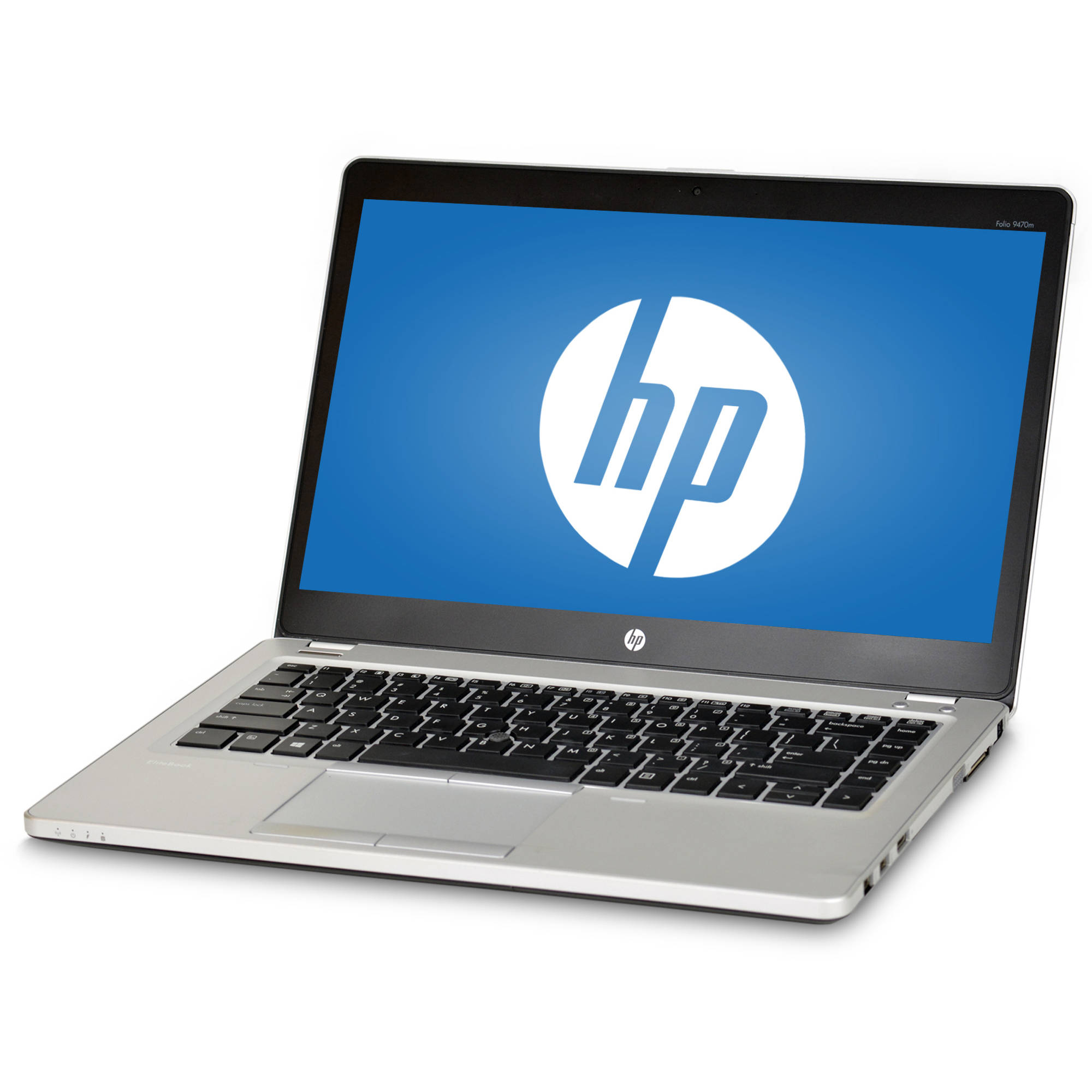 "Factory Refurbished HP Folio 9470M 14"" Laptop, Windows 10 Pro, Intel Core i5-3437U Processor, 8GB RAM, 320GB Hard Drive"