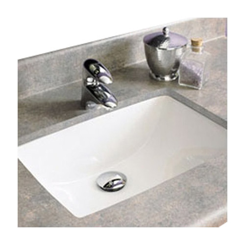 DecoLav Classic Rectangular Undermount Bathroom Sink with Overflow
