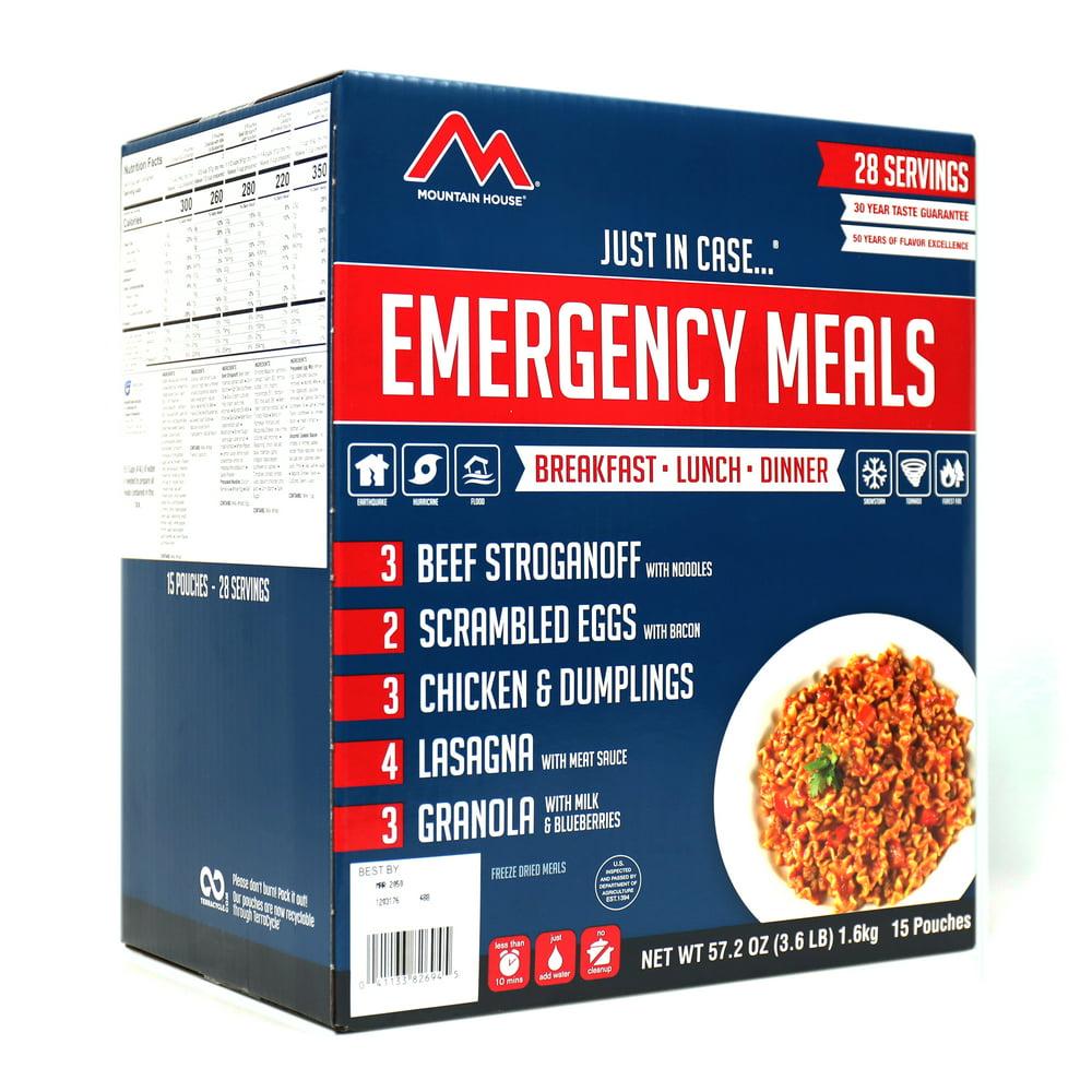 Mountain House Emergency Food Meal Kit Freeze Dried Food 5 ...