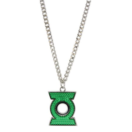 DC Comics - Necklace - Oversized pendant Pave Green - Oversized Necklace