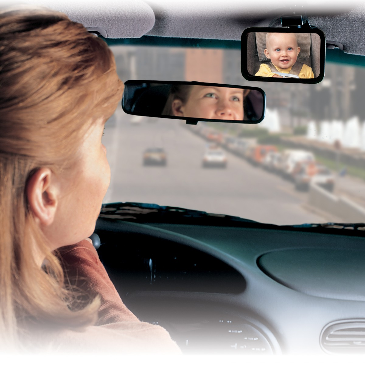 Safety 1stR Baby On Board Front Or Back View Mirror