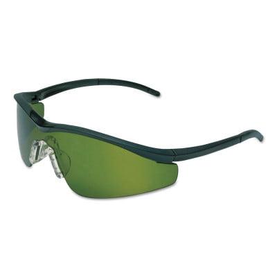 Triwear Protective Eyewear, Green/Ir 3 Filter Lens, Duramass Hc, Onyx Frame