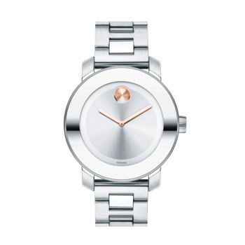 Movado Women's Bold Stainless Steel Watch + $25.99 Rakuten Credit