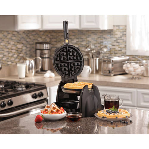 Hamilton Beach Flip Belgian Waffle Maker with Removable Grids | Model# 26030
