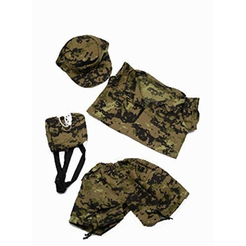Special Forces Camos Outfit Teddy Bear Clothes Fit 14 - 18 Build-a-bear, Vermont Teddy Bears, and Make Your Own Stuffed Animals