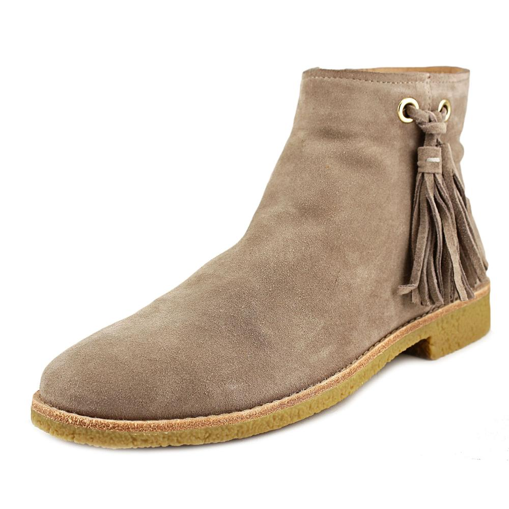 Kate Spade Bellamy Women Round Toe Suede Gray Ankle Boot by kate spade