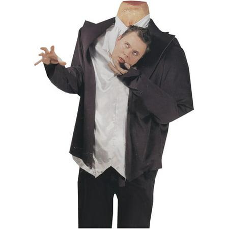 Headless Ghost Head Holder Adult Halloween Costume