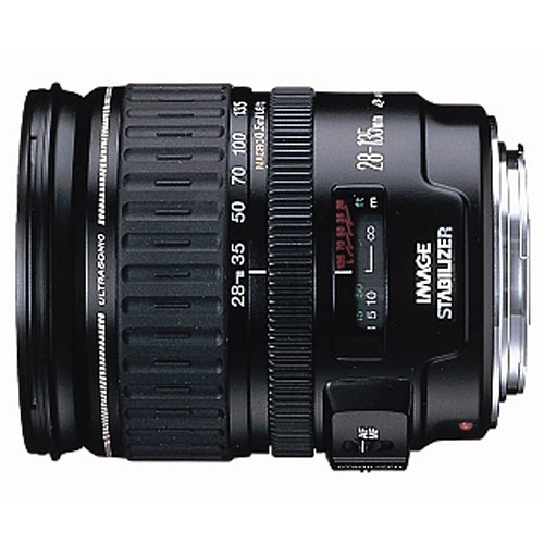 Canon Ultrasonic EF 28-135mm Image Stabilizer Zoom DSLR Lens 72mm 1:3.5-6.5 IS
