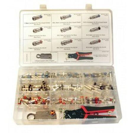 SealSmart Field Installation Kit w-Nickel Plated Connectors. Kit.