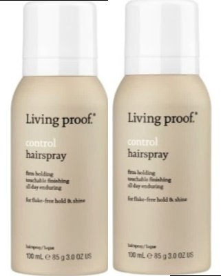 Control Hairspray 3.0 oz by Living Proof (Set of 2)