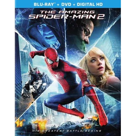 The Amazing Spider-Man 2 (Blu-ray) (The Amazing Spider Man Suit For Sale)