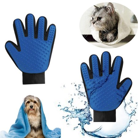 True Deshedding Glove Touch for Gentle and Efficient Pet Katze Grooming