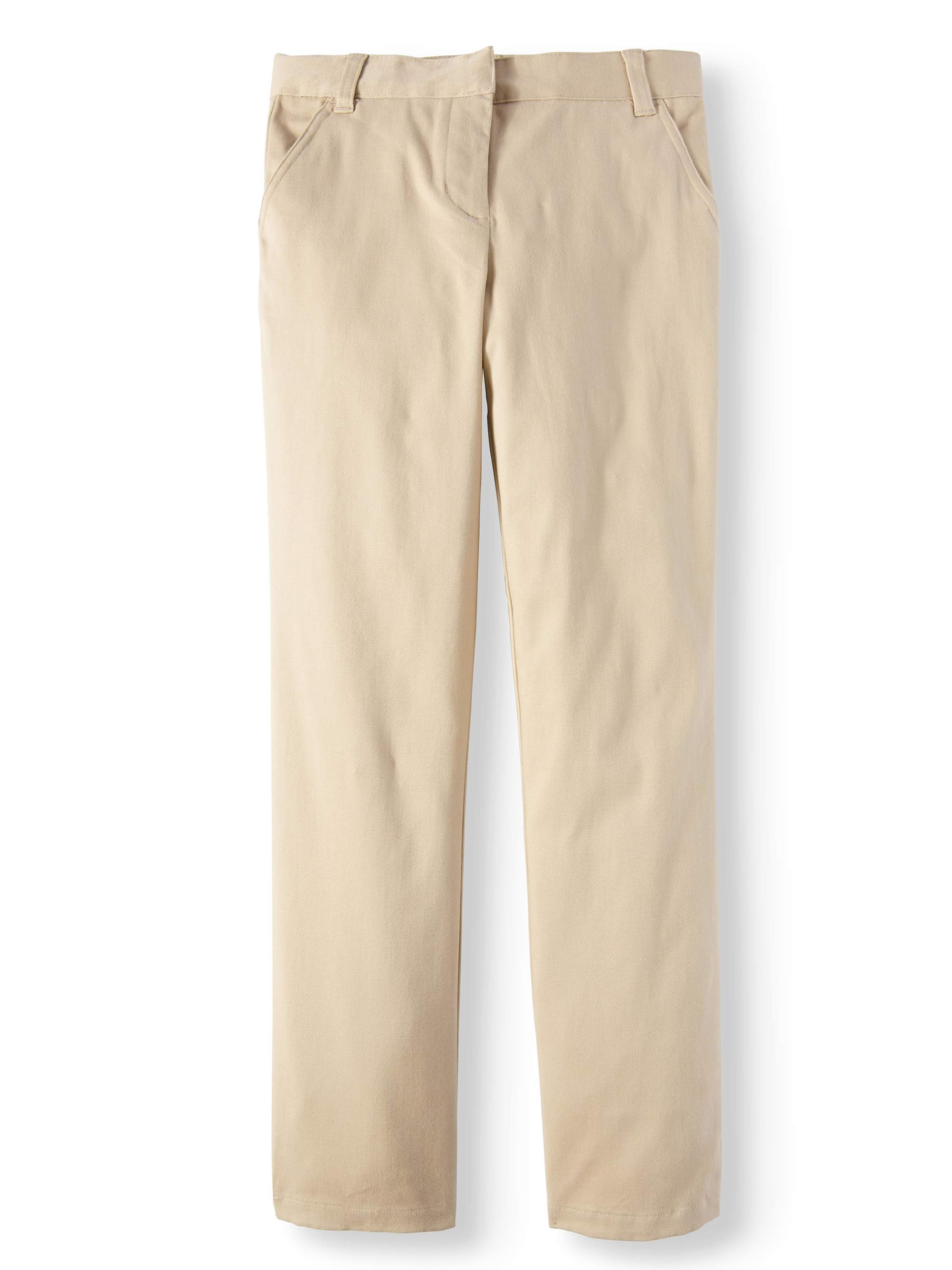 Girls' School Uniforms, Flat Front Pant