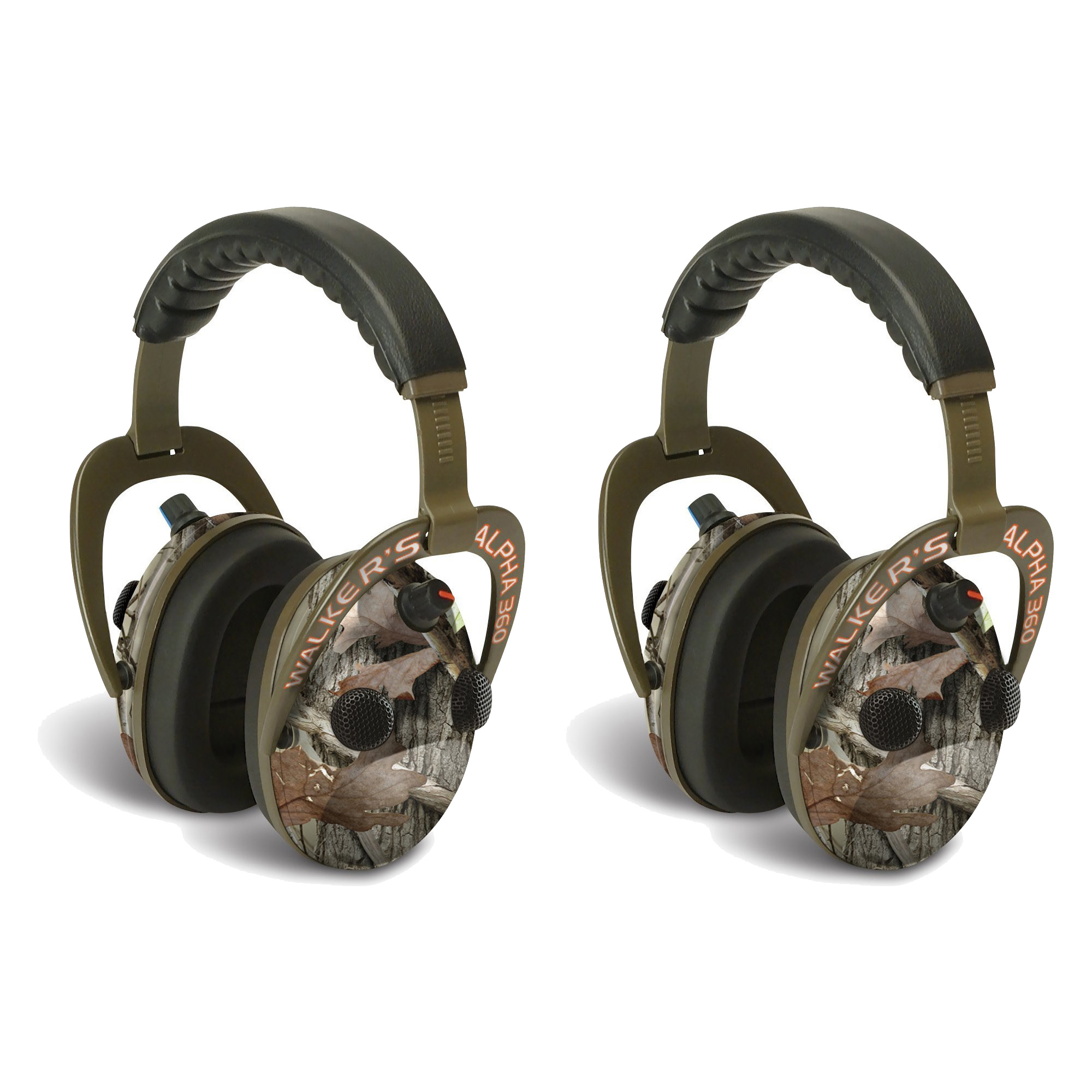 Walker's Walkers Alpha Muffs 360 Hunting 9x Hearing Enhan...
