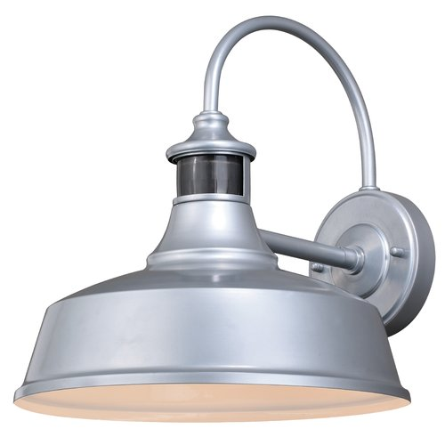 Barn Security Light: Gracie Oaks Ziebarth Outdoor Barn Light With Motion Sensor