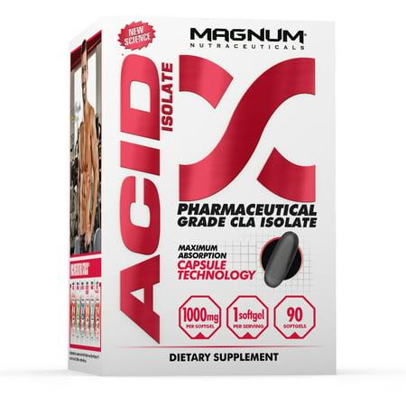 Magnum Nutraceuticals Acid Fat Burner Pharmaceutical Grade Cla Isolate   90 Softgels   Fat Mobilizer   Metabolic