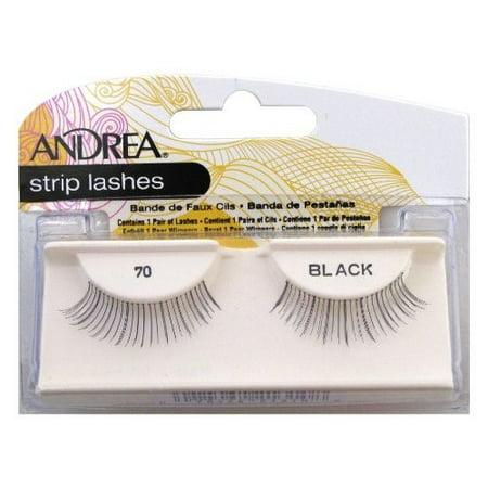 Andrea False Eyelashes, Style 70, Black