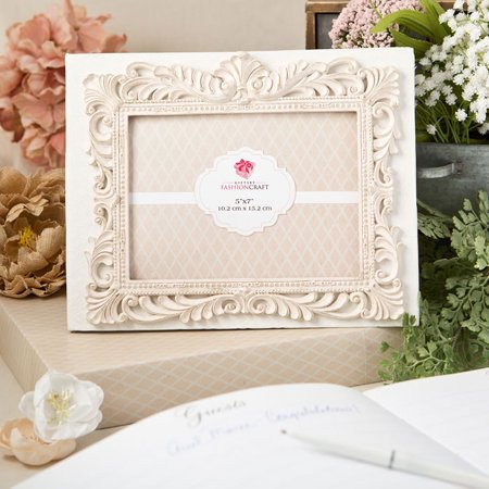 Vintage design guest book with a front 5 x 7 photo cover