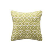 Madira Grey Square Pillow