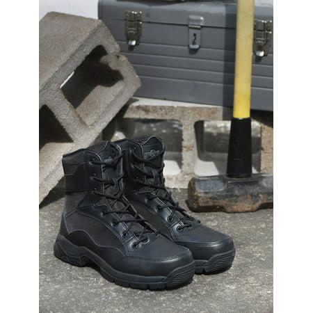 9c957d17c6ca4a Interceptor - Interceptor Men s Force Tactical Steel-Toe Work Boots ...