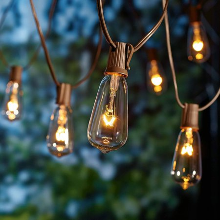 String Lights Houses : Better Homes and Gardens Glass Edison String Lights, 10 Count - Walmart.com