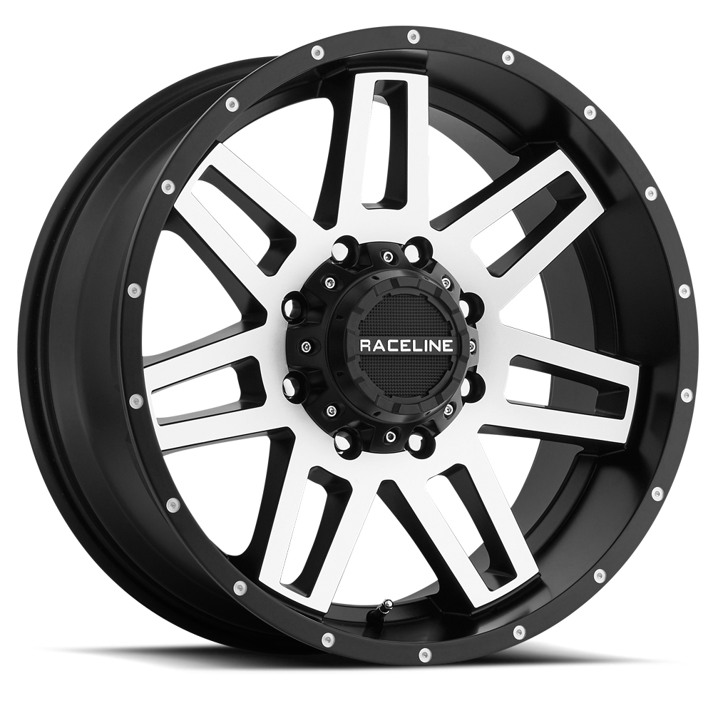 Raceline 931M Injector 20x9 8x170 +12mm Black/Machined Wh...