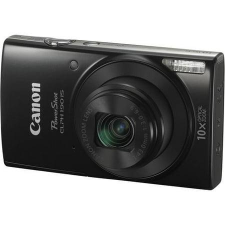 Canon PowerShot ELPH 190 IS Digital Camera (Black) - image 1 de 1