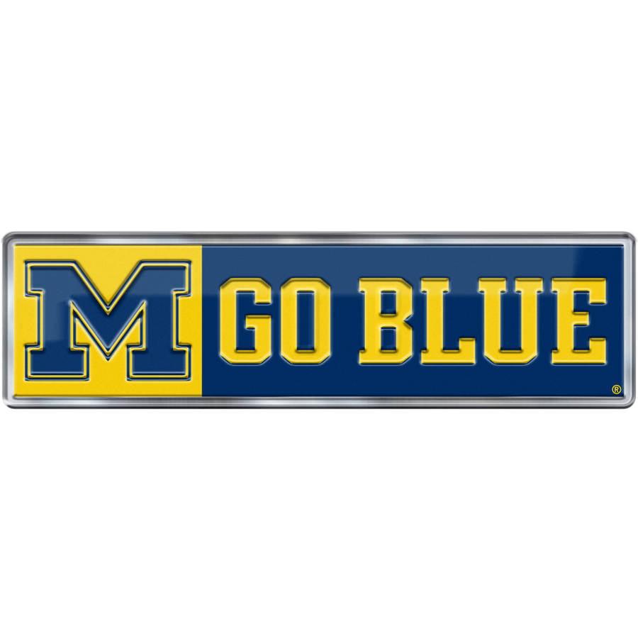NCAA Michigan Wolverines Alternative Color Bling Emblem