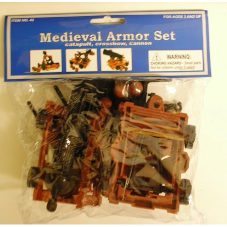 Catapult Kits (Medieval Armor Set (Catapult, Crossbow, Cannon) (Bagged) 1/32, 1/32 Scale By)