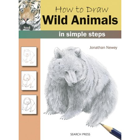 How to Draw: How to Draw: Wild Animals in Simple Steps (Paperback) - Draw Simple Halloween Skeleton