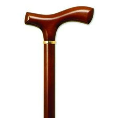 Alex Orthopedic Inc Fritz Handle Wood Canes, Cane Lt Brwn Mens fritz Hndl, (1 EACH, 1 -