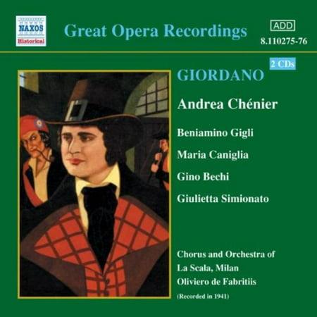 Great Opera Recordings  Andrea Chenier