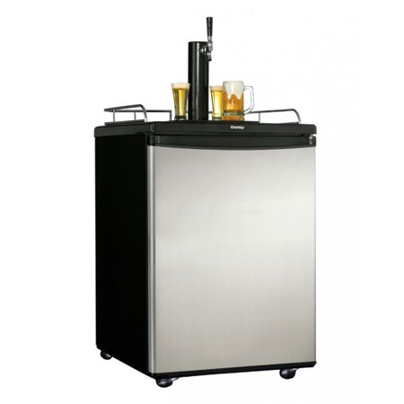 Danby Chill'n Tap 5.4 Cubic Foot Full Keg Home Beer Fridge Dispenser Kegerator ()