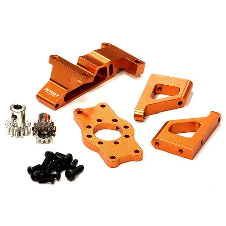 Brushless Motor Bearings Castle (Integy RC Toy Model Hop-ups T3285ORANGE Brushless Conversion Motor Mount Set for 1/10 Revo 3.3 & Slayer(both) )