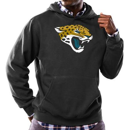 "Jacksonville Jaguars Majestic NFL ""Tek Patch"" Hooded Sweatshirt Black by"