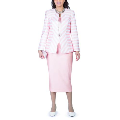 Amazing G23108  Women39s 3piece Skirt Suit  Divine Apparal Inc