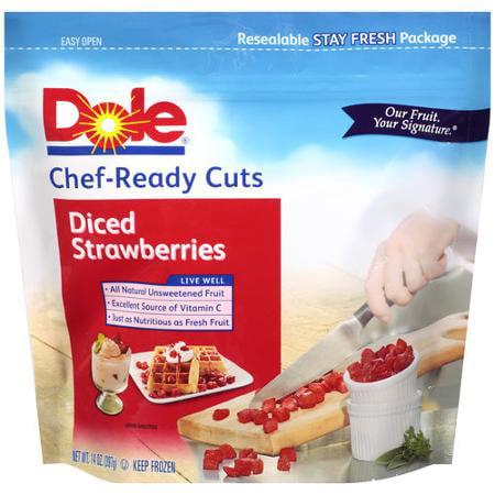 dole sliced strawberries