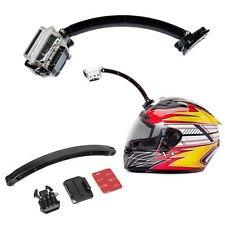 GoPro Compatible Helmet Arm Extension Mount (Gopro Helmet Extension)