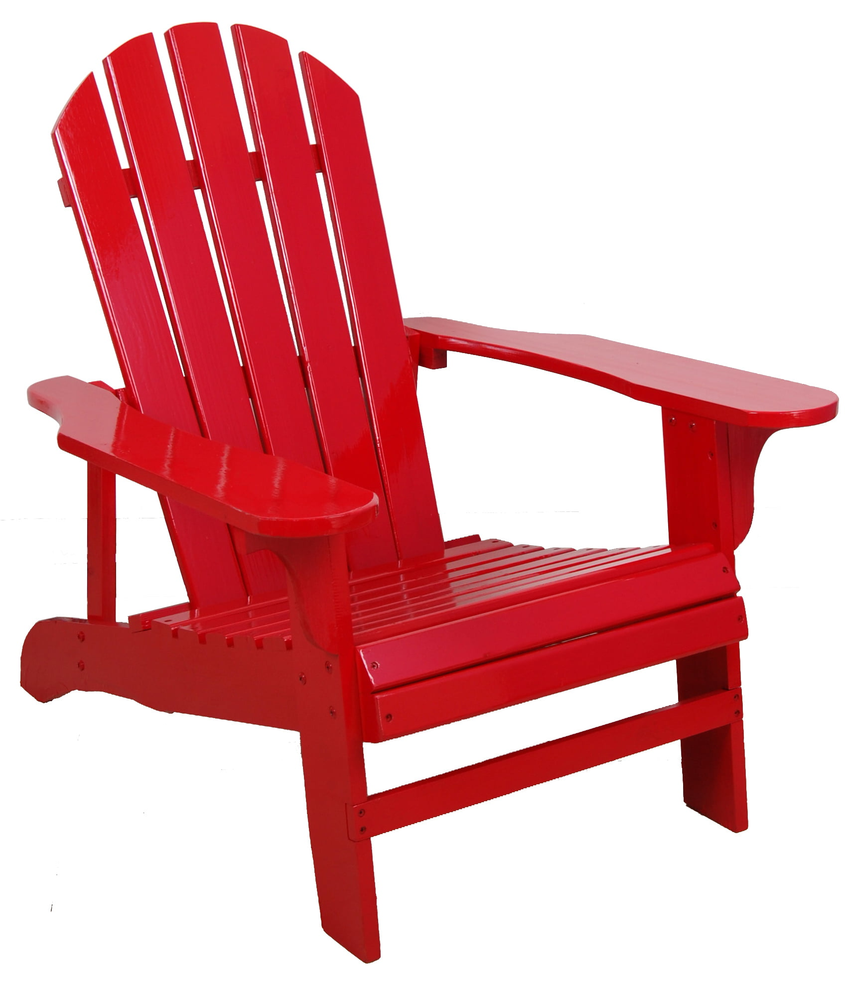 Red Adirondack Chair by United General Supply CO., INC