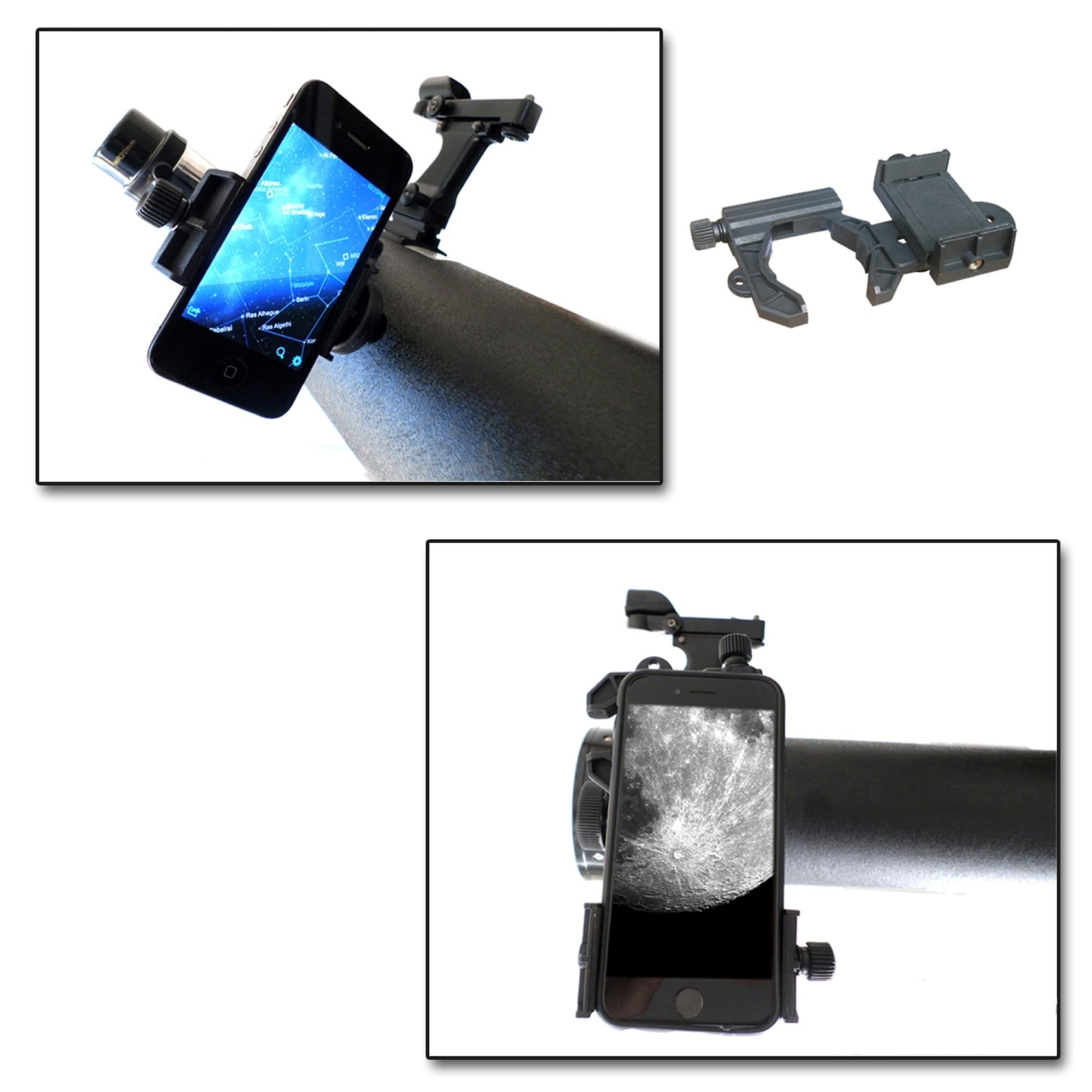Galileo 500mm X 80mm Table Top Dobsonian Telescope with Smartphone Photo//Video Adapter