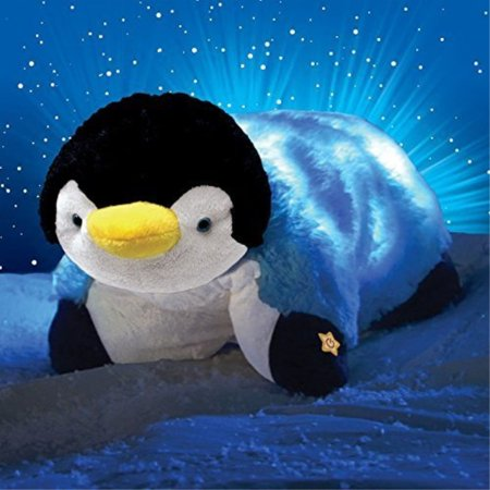 Pillow Pets Glow Pets Penguin, 12 -