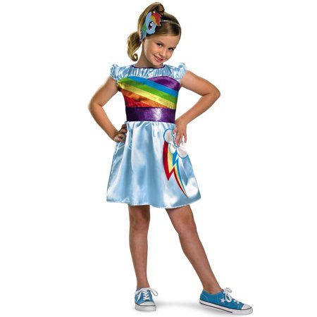 Disguise Costumes My Little Pony Rainbow Dash TV Classic Costume
